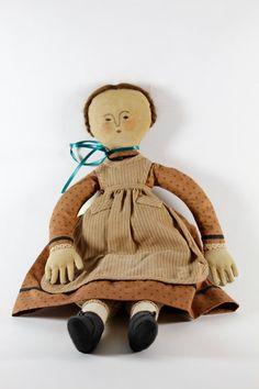 Historical Folk Doll, Gail Wilson design