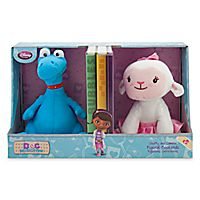 Stuffy and Lambie Figural Bookends - Doc Mcstuff 24.95$