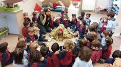 Els més petits també hi són pel Nadal a l'escola, l'altre dia van fer cagar el tió. La llar de Carmelites a tope d'activitats aquest Nadal!!