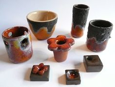 sixties/ seventies ceramic made by Fennicole Miniatures