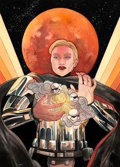"""Blood Moon"" by Mar Spragge on INPRNT"