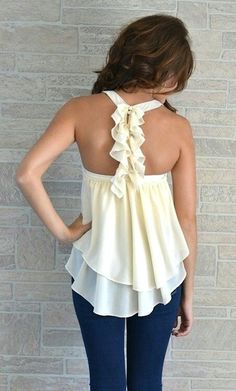 """How to """"jazz up"""" the back of a shirt"""