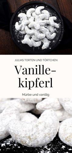 Rezept für klassische Weihnachtsplätzchen, einfache Vanillekipferl #Weihnachtsplätzchen #Plätzchen #Vanillekipferl