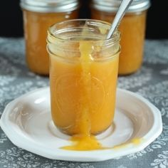 Homemade Peach Butter: gift this w a fresh batch of scones or biscuits