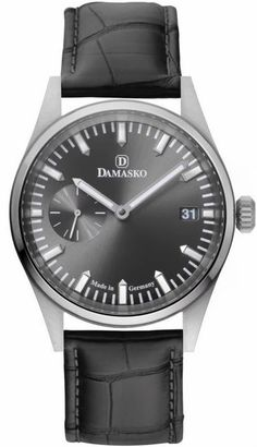Damasko Watch DK 101 #add-content #bezel-fixed #bracelet-strap-leather #brand-damasko #case-depth-12-6mm #case-material-steel #case-width-42mm #date-yes #delivery-timescale-1-2-weeks #dial-colour-grey #gender-mens #luxury #movement-manual #new-product-yes #official-stockist-for-damasko-watches #packaging-damasko-watch-packaging #style-dress #subcat-dk-10-101-11-14-15 #supplier-model-no-dk-101-leather-pin #warranty-damasko-official-2-year-guarantee #water-resistant-100m