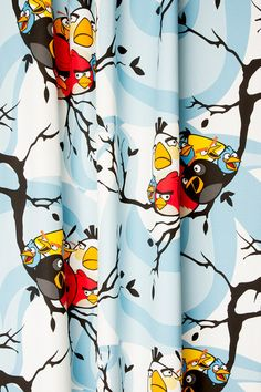 ANGRY BIRDS | Vallila Interior Marimekko, Angry Birds, Towels, Print Patterns, Fabrics, Curtains, Pillows, Interior, Clothing