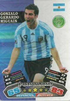 FIFA WORLD CUP BRAZIL 2014   GONZALO HIGUAIN CARD  | eBay