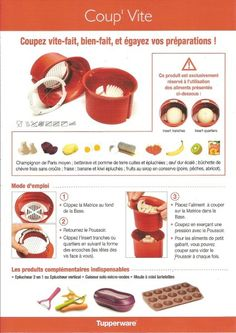 Fiche recette Tupperware: Coup'vite Tupperware Pressure Cooker, Chartreuse, Slow Cooker, Macarons, Snacks, Food, Images, Quotes, Gifts
