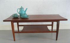 Retro Mid-Century Teak Vintage Coffee Table Designed by Richard Hornby | eBay
