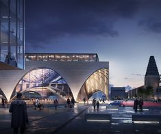 Oxford Station Competition | Transportation | AHR | Architects and Building Consultants