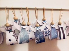 In this DIY tutorial, we will show you how to make Christmas decorations for your home. The video consists of 23 Christmas craft ideas. Diy Paper Christmas Tree, Easy Christmas Crafts, Christmas Activities, Diy Christmas Ornaments, Christmas Angels, Christmas Projects, Kids Christmas, Christmas Decorations, Angel Crafts