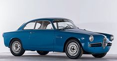 Alfa Romeo Giulietta Sprint Veloce Alleggerita (1956) #Alfa #AlfaRomeo #italiandesign