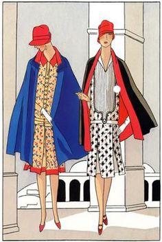 Art Deco Fashion  Fall 1926 Designer: Jacques Doucet