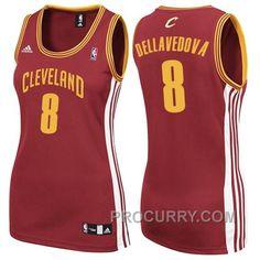 ccca48750 Womens Cleveland Cavaliers  8 Matthew Dellavedova Revolution 30 Swingman  Wine Red Jersey