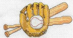 Perfect for a boy's birthday card.   {free cross stitch pattern here}