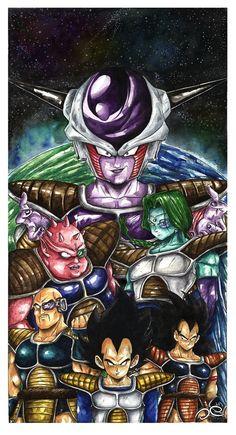 Dragon Ball Z by Fluorescentteddy.deviantart.com on @DeviantArt