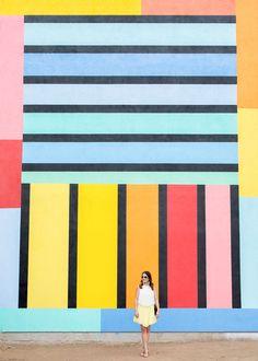 209 Broadway Street, Venice, CA  Los Angeles Vanice Multicolor Grid Wall