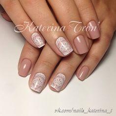 Cute nail stamping