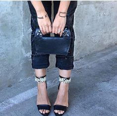 Jewel Rue  Contra Cutout Cuff & Paradox Bangle  . #jewelry #jewllery #minimal #bracelet #bangle #fashionblogger #styleblogger #streetstyle #silver
