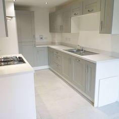 Sage Kitchen, New Kitchen, Kitchen Dining, Kitchen Decor, Kitchen Cabinets, Kitchen Ideas, Dining Room, Wimpey Homes, Taylor Wimpey