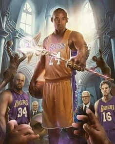 Kobe Bryant passing the fucking torch. Dear Basketball, Basketball Legends, Basketball Stuff, Nba Pictures, Basketball Pictures, Dodgers, Jersey Vintage, Basketball Drawings, Kobe Lebron