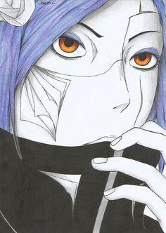 Naruto - Konan by NeXusShawn on DeviantArt