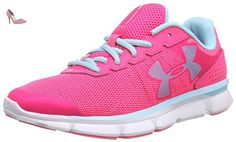 Under Armour UA W Micro G Speed Swift, Chaussures de course femme - Rose - Pink (HYR/WHT/SKB 963), 40 EU - Chaussures under armour (*Partner-Link)