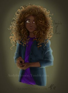 Hazel Levesque, drawn by andythelemon and colored by juliajm15 (Andy's one of my favorite tumblr artists, so if you're interested, go check her out!)