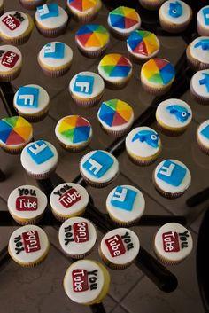 Social media cupcakes RefugeMarketing.com