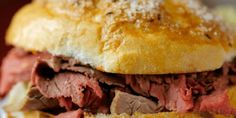 """50 States, 50 Sandwiches - Zagat YAY! The New York sandwich is beef on weck! (even though the author spells it """"kummelweck"""" instead of """"kimmelweck"""" i'll let it slide)"""
