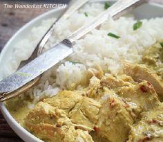 Pollo al curry de The Wanderlust KITCHEN