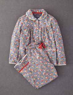 Mini Boden Woven Pyjama Set