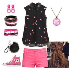 """""""Rikki"""" by shaybot12 ❤ liked on Polyvore featuring H&M, Converse and BP."""
