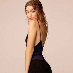 10f0e71e1ff4 Tommy Hilfiger Viscose Striped Jumpsuit Gigi Hadid - peacoat   jet black  (Blue) -