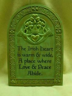 The Irish Heart - I Love Being Irish FB