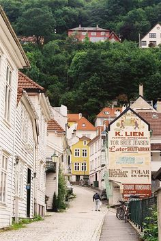 Typical Bergen Street | It reminds me of Lynmouth in North D… | Flickr - Photo Sharing!