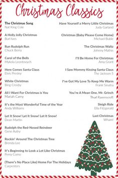 Classic Christmas Music Playlist, the perfect holiday playlist. #christmas #music #christmasmusic