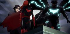 The Bat Fam in 'Batman; Bad Blood
