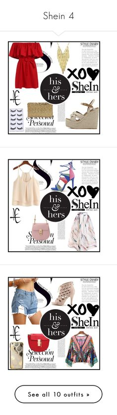 """""""Shein 4"""" by zina1002 ❤ liked on Polyvore featuring Sarah Jessica Parker"""