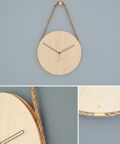 very cool Hanging Clock, easy for DIY
