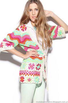 Sacos Agostina Bianchi primavera verano 2013 moda