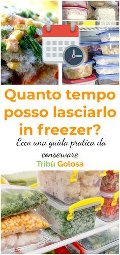 Vi capita mai di chiedervi se ciò che avete nel #freezer sia ancora commestibile? Magari lo avete #congelato mesi prima senza riuscire a definire quanto tempo sia esattamente passato. Questa guida vi aiuterà a ridurre gli #sprechi  #antispreco #surgelati  #tribugolosa #gourmettribe #golosiditalia #cucina #cucinaitaliana #cucinare #italianrecipes #food #italianfood #foodstyling #yummy #foodlover #ricette #recipe #homemade #delicious #ricettefacili Menu Planning, Food Storage, Freezer, Ramen, Love Food, Snack Recipes, Sweet Home, Chips, Hacks