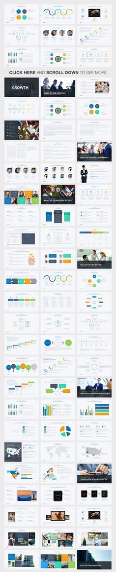Business Growth Powerpoint Template by Slidedizer on Creative Market