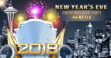 New Year's Eve Fireworks Boat Party Seattle 2018 New Years Eve Fireworks, New Eve, Brown Paper, Fair Trade, Seattle, Appreciation, Boat, Party, Kraft Paper