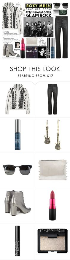 """My Runway Looks: Glam Rock!"" by curekitty ❤ liked on Polyvore featuring Altuzarra, Roxy, Joseph, Urban Decay, Steve Madden, Yves Saint Laurent, MAC Cosmetics, NARS Cosmetics, Couture Colour and country"