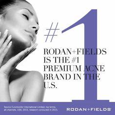 Rodan+Fields can help  60 days money back guarantee!
