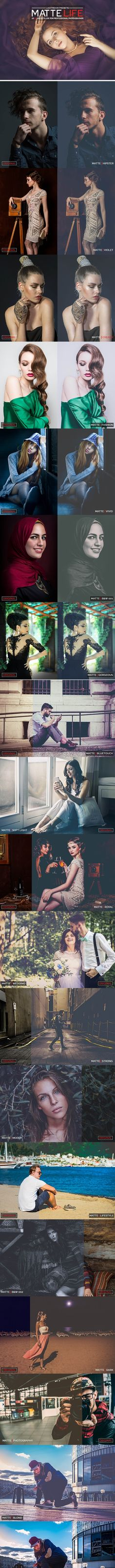 20 Matte Life Lightroom Presets — LRTemplate #fashion matte #photography effect Professional Lightroom Presets, Premium Wordpress Themes, Any Images, Photoshop Actions, Professional Photographer, Your Image, Background Images, Clouds, Templates