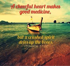 """A Cheerful Heart Makes Good Medicine…"" — Christian Stay at Home Moms"