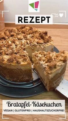 Healthy Cake, Healthy Baking, Sweet Desserts, Healthy Desserts, Sweets Recipes, Snack Recipes, Baking Power, Vegan Treats, How Sweet Eats