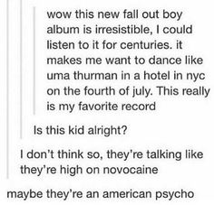 Fall Out Boy More